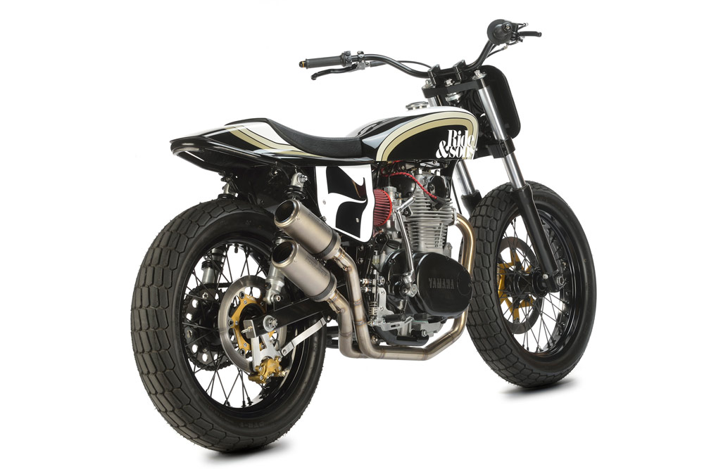 RIDE&SONS YAMAHA XS650 DIRT TRACK4