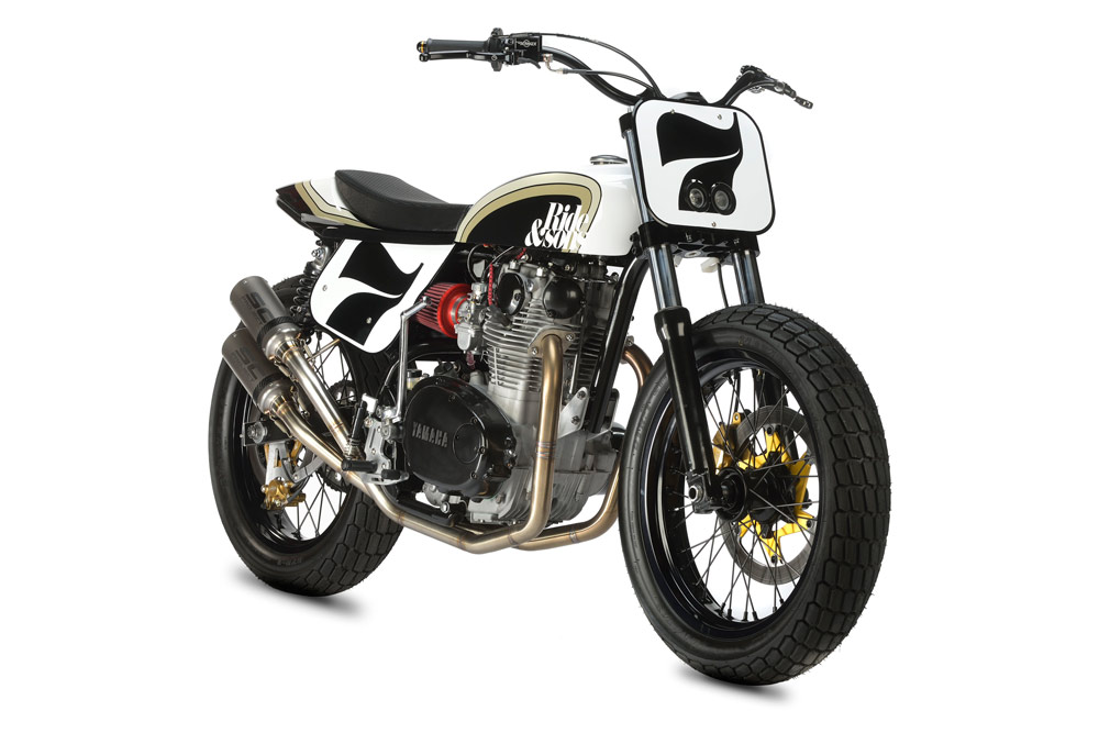 RIDE&SONS YAMAHA XS650 DIRT TRACK5