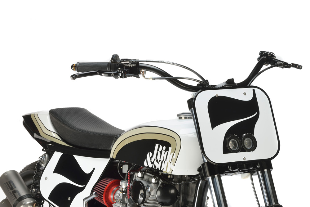 RIDE&SONS YAMAHA DIRT TRACK 6