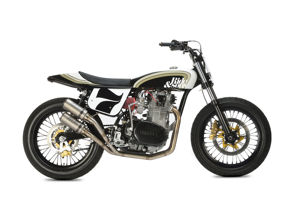 RIDE&SONS YAMAHA XS650 DIRT TRACK1