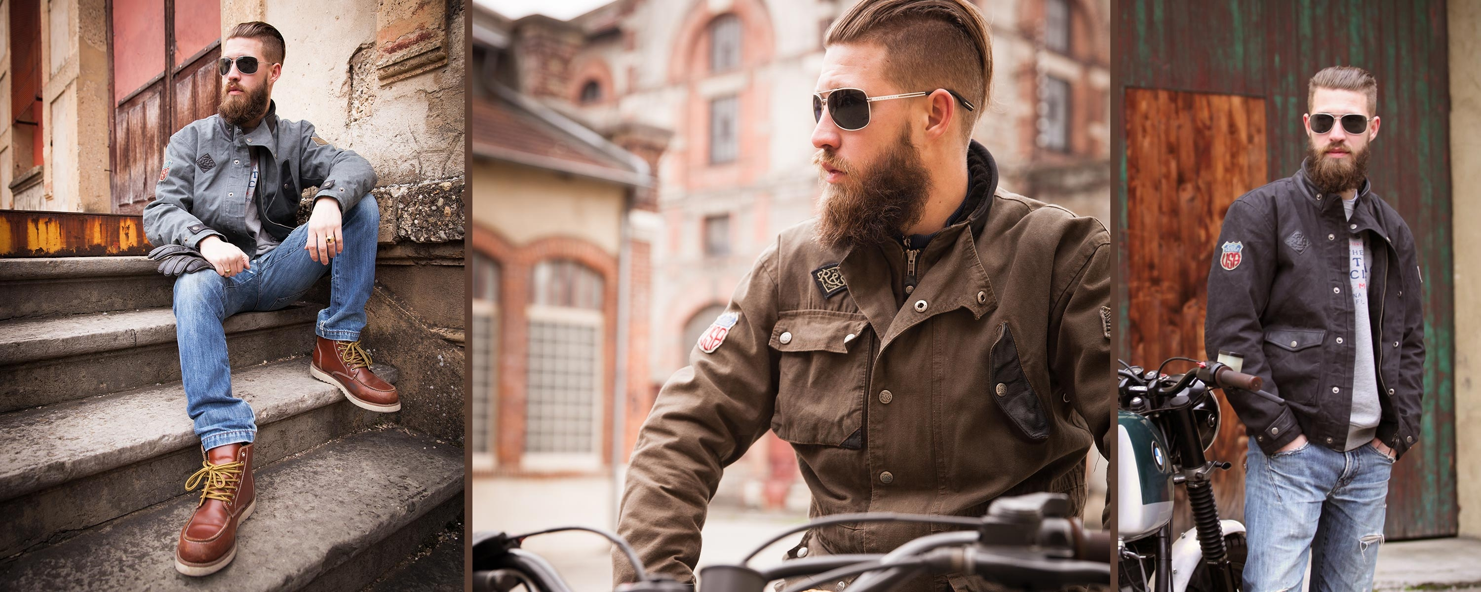 The Runaway Jacket by RIDE&SONS