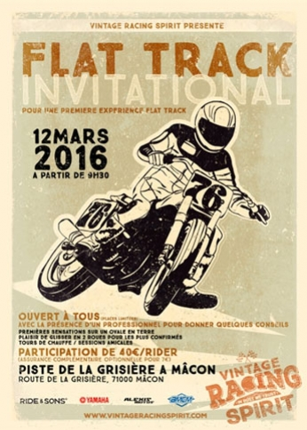 FLAT TRACK EVENT IN FRANCE