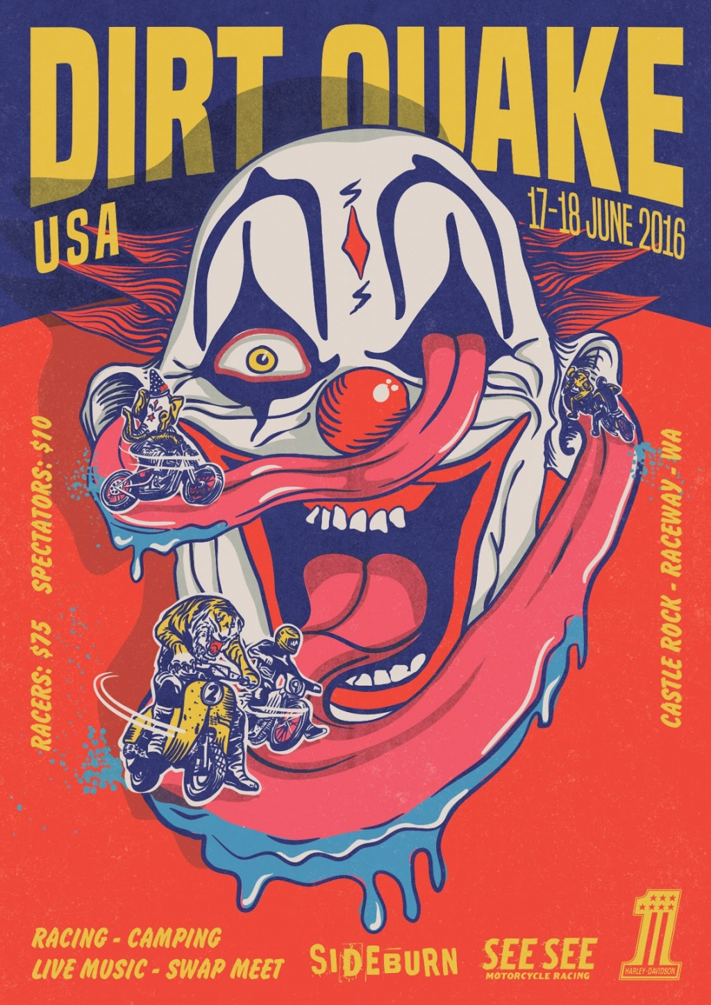 THE DIRT QUAKE USA 2016